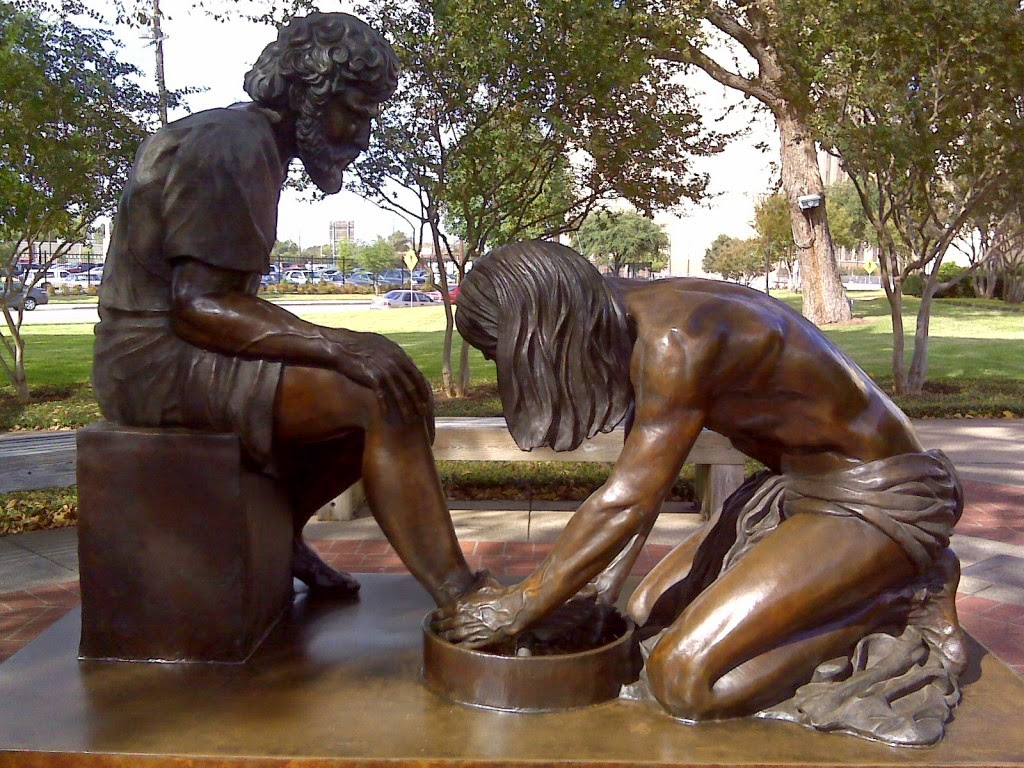Image result for washing each others feet